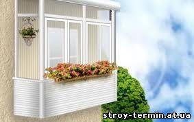 Способи скління балконів і лоджій